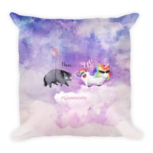 Limited Edition Queenicorn Pillow